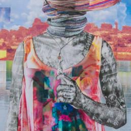 Naissance d'une Vénus_détail_2019_Gaël Maski_galerie Angalia