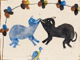 Pourquoi le Congo_Albert Lubaki_Sans titre_ c 1929_Galerie Angalia