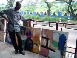 Francis Mampuya_2009_In Situ_Galerie Angalia