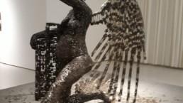 Exposition de Freddy Tsimba à l'Africa Museum de Tervuren, 22 avril 2021 _ Galerie Angalia