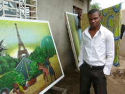Amani Bodo à Kinshasa_2011_In Situ_Galerie Angalia