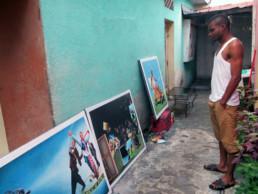 Amani Bodo à Kinshasa_2015_In Situ_Galerie Angalia