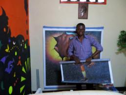 Amani Bodo à Kinshasa_2014_In Situ_Galerie Angalia