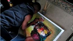 Entretien avec Amani Bodo_vidéo_ galerie Angalia, Paris, 2015