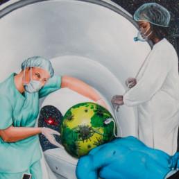 Le Monde au scanner_2020_Amani Bodo_Galerie Angalia