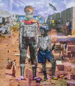 la main de l'homme-2019-Gael Maski_Galerie Angalia