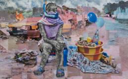 le désert du touareg-2020-Gael Maski_Galerie Angalia