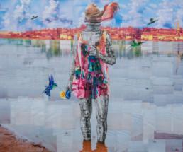 Naissance d'une Vénus-2019-Gael Maski_Galerie Angalia