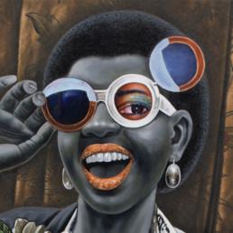 Ah ! Ekolo ya sika po na ngai_2017_détail_JP Mika_Galerie Angalia