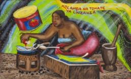 Kolamba na tomate ya linzanza_2013_Papa Mfumu'Eto 1er_Galerie Angalia