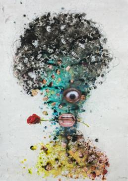 Crépue_2013_Steve Bandoma_Galerie Angalia