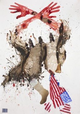 Falling apart 1_2012_Steve Bandoma_Galerie Angalia