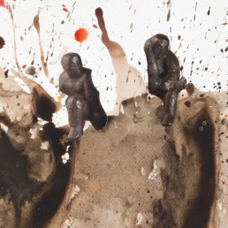 falling apart 1_2012_détail 1_Steve Bandoma_Galerie Angalia