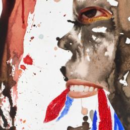 falling apart 2_2012_détail 2_Steve Bandoma_Galerie Angalia