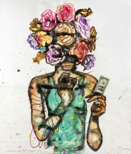 L'illusion de bonheur_2016_Steve Bandoma_Galerie Angalia