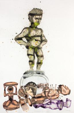 Sans titre_2015_Steve Bandoma_Galerie Angalia