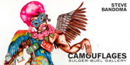 Camouflages _ catalogue d'exposition _ Sulger-Buel Gallery, 2020_Couverture_Angalia