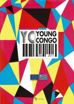 YOUNG CONGO - Gaël Maski _ Couverture _ Catalogue d'exposition _ Kin ArtStudio, 2017 _ Angalia