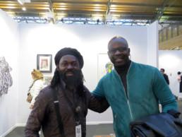 Freddy Tsimba et Lilian Thuram_AKAA_2017_In Situ_Galerie Angalia