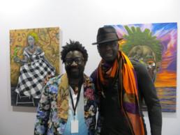 JP Mika et Lilian Thuram_AKAA_2017_In Situ_Galerie Angalia