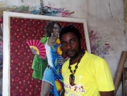 JP Mika_devant Maman Africa_2014_In Situ_Galerie Angalia