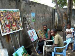 JP Mika_première visite à Kinshasa_2007_In Situ_Galerie Angalia
