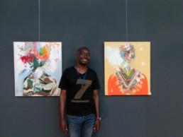 Francis Mampuya_Exposition_2018_In situ_Galerie Angalia