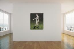 Messi le roi Léo_artrooms_2015_Amani Bodo_Galerie Angalia