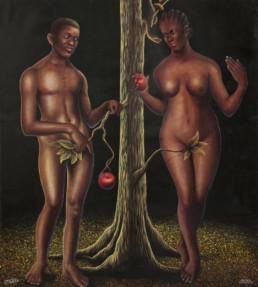 Adam et Eve_2012_Amani Bodo_Galerie Angalia
