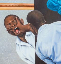 Le pouvoir de l'artiste_détail_2019_Amani Bodo_Galerie Angalia