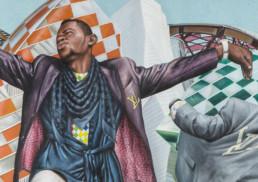 Sapeurs Louis Vuitton_détail 1_2017_Amani Bodo_Galerie Angalia