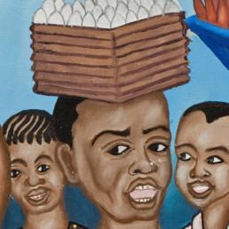Commerçant à la criée_2010_Chéri Benga_Galerie Angalia