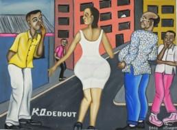 KO debout_2008_Chéri Benga_Galerie Angalia