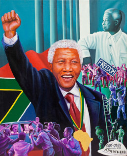 Nelson Mandela_2010_Chéri Chérin_Galerie Angalia