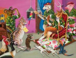 Le crime du chat_2011_JP Mika_galerie Angalia