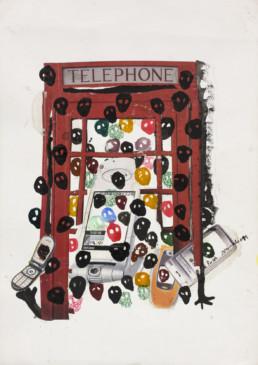 Cabine telefonik_2011_Kura Shomali_galerie Angalia