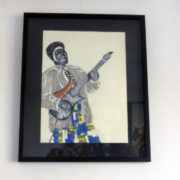 Freddie King_encadrement_2014_Kura Shomali_galerie Angalia