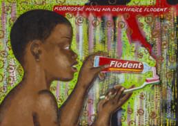 Dentifrice Flodent_série Kinshasa quotidien_2013_Papa Mfumu'eto 1er_galerie Angalia