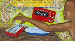 Kolia sardine ya linzanza_Série Kinshasa quotidien_2013_Papa Mfumu'eto 1er_galerie Angalia