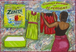 Kosokola bilamba na détergent_Série Kinshasa quotidien_2014_Papa Mfumu'eto 1er_galerie Angalia
