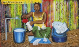 Koteka mayi_Série Kinshasa quotidien_2013_Papa Mfumu'eto 1er_galerie Angalia