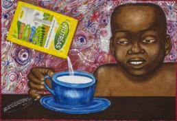 Nutrias_Série Kinshasa quotidien_2014_Papa Mfumu'eto 1er_galerie Angalia
