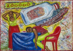 Zododo_série Kinshasa quotidien_2014_Papa Mfumu'eto 1er_galerie Angalia