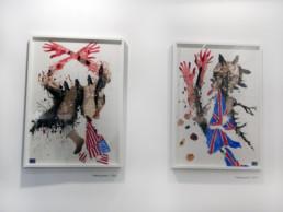 Falling apart_encadré_2012_Steve Bandoma_galerie Angalia