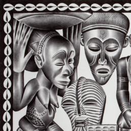 La diversité_détail_2010_Tsham_galerie Angalia