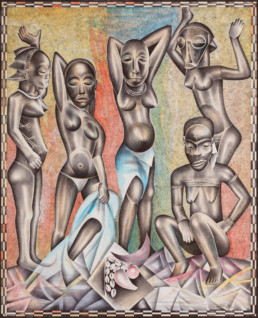 Les demoiselles du Congo_2015_Tsham_galerie Angalia