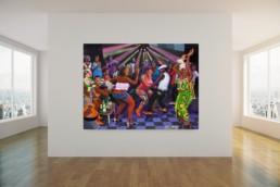 A la terrasse_artrooms_Chéri Chérin_Galerie Angalia