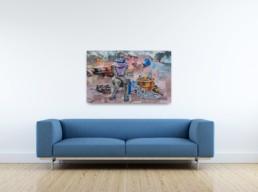 Le désert du touareg_artrooms_Gaël Maski_galerie Angalia