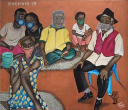 Pochvid-19_2020_Chéri Benga_Galerie Angalia